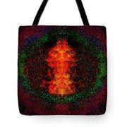 Color Burst Tote Bag by Christopher Gaston