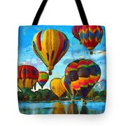 Colorado Springs Hot Air Balloons Tote Bag by Nikki Marie Smith