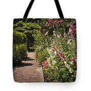 Colorful Flower Garden Tote Bag by Elena Elisseeva