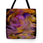 Colourful Swirl Tote Bag by Hakon Soreide