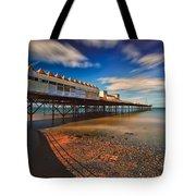 Colwyn Pier Tote Bag by Adrian Evans