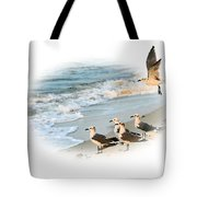 Coming In For A Landing Tote Bag by Kristin Elmquist