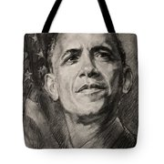 Commander-in-Chief Tote Bag by Ylli Haruni
