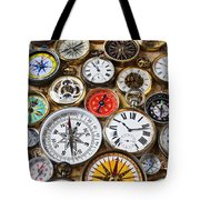 Compases And Pocket Watches  Tote Bag by Garry Gay