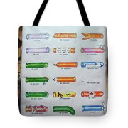 Condom Compendium Sign Thaiiland Tote Bag by Sally Weigand