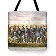 Confederate Generals Tote Bag by Granger