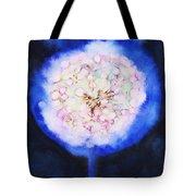 Cosmic Bloom Tote Bag by Tara Thelen