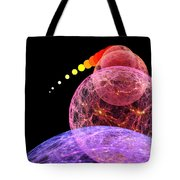 Cosmic Inflation Tote Bag by Don Dixon