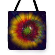 Cosmic Light Tote Bag by Linda Sannuti