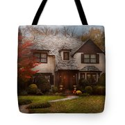 Cottage - Westfield Nj - The Country Life Tote Bag by Mike Savad