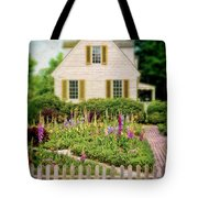 Cottage And Garden Tote Bag by Jill Battaglia