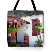 Cottage Charm Tote Bag by Lorraine Devon Wilke