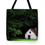 Cottage In The Woods Tote Bag by Fabrizio Troiani