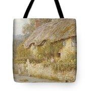Cottage Near Wells Somerset Tote Bag by Helen Allingham