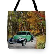 Country Roads Tote Bag by Cheryl Young