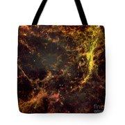 Crab Nebula Tote Bag by NASA