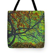 Crabapples West Acid Pop Tote Bag by Feile Case