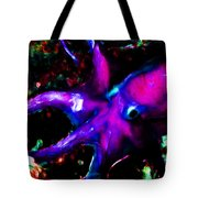Creatures of The Deep - The Octopus - v3 - Electric - Violet Tote Bag by Wingsdomain Art and Photography