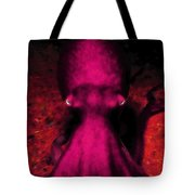 Creatures Of The Deep - The Octopus - V4 - Violet Tote Bag by Wingsdomain Art and Photography