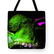 Creatures of The Deep - The Octopus - v6 - Green Tote Bag by Wingsdomain Art and Photography