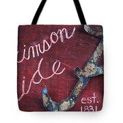 Crimson Tide Tote Bag by Racquel Morgan