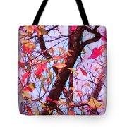 Crisp Autumn Day Tote Bag by Judi Bagwell