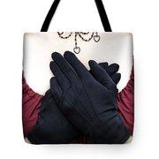 Crossed Hands Tote Bag by Joana Kruse
