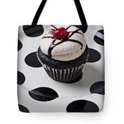 Cupcake With Cherry Tote Bag by Garry Gay
