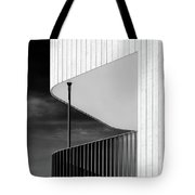 Curved Balcony Tote Bag by Dave Bowman