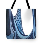 Curves - ArchiFou 42 Tote Bag by Aimelle