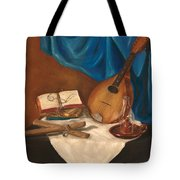 Dad's Mandolin Tote Bag by Kathy Wood