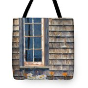 Daisies And Daylilies Tote Bag by Verena Matthew