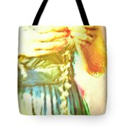 Daisy Chain Tote Bag by Tom Gowanlock