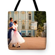 Dance at Saint Catherine Palace Tote Bag by David Smith