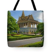Dancing Pavilion Tote Bag by David Freuthal