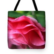 Dancing Petals Of The Camellia Tote Bag by Enzie Shahmiri