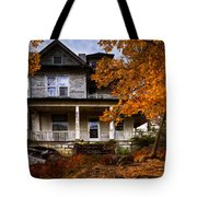 Dark Shadows Tote Bag by Debra and Dave Vanderlaan