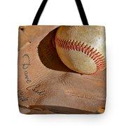 Dave Cash Mitt Tote Bag by Bill Owen