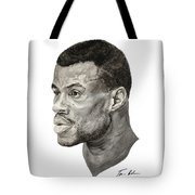 David Robinson Tote Bag by Tamir Barkan