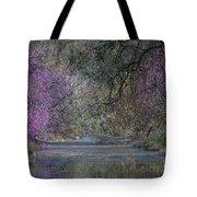 Davis Arboretum Creek Tote Bag by Diego Re