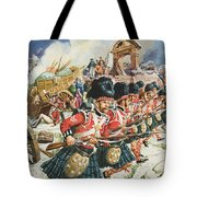 Defence Of Corunna Tote Bag by C L Doughty