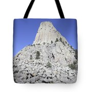 Devils Tower National Monument, Wyoming Tote Bag by Richard Roscoe