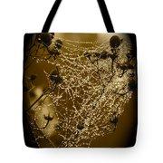 Dewdrop Cameo Tote Bag by Carol Groenen