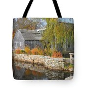 Dexter's Grist Mill Tote Bag by Catherine Reusch  Daley