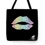 Diamond Lip Shape Tote Bag by Setsiri Silapasuwanchai
