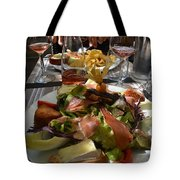 Dinner is served Tote Bag by Dany  Lison