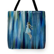 Divine Flow Tote Bag by The Art With A Heart By Charlotte Phillips