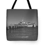 Docking For A Moment Tote Bag by Betsy Knapp