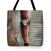 Doctor - A Leg Up In The Competition Tote Bag by Mike Savad