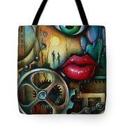 Dreamers 3 Tote Bag by Michael Lang